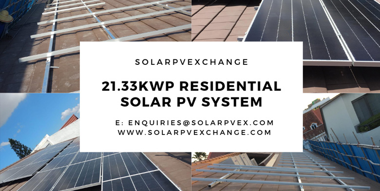 21.33 kWp Residential Solar PV System