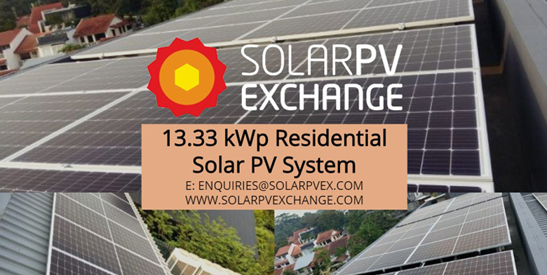 13.33 kWp Residential Solar PV System