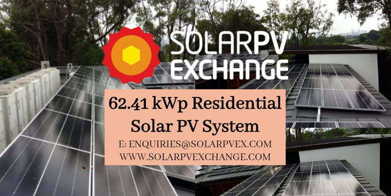 62.41 kWp Residential Solar PV System