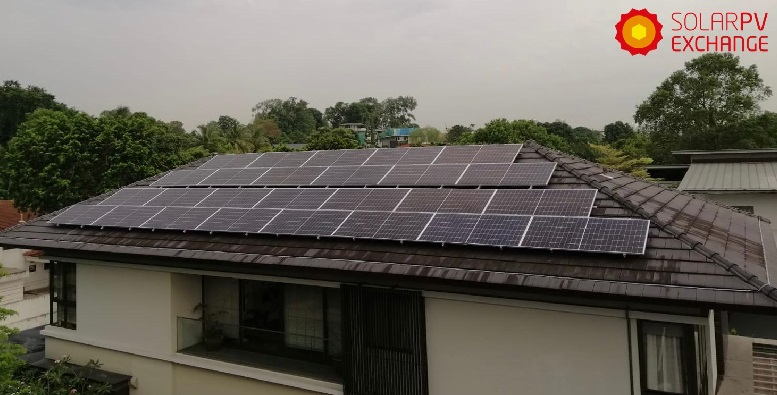 59.385 kWp kWp Residential Solar PV System